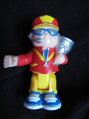 Fisher Price Little People RACE CAR DRIVER w/ TROPHY GOGGLES Bendable Poseable for sale  Shipping to India