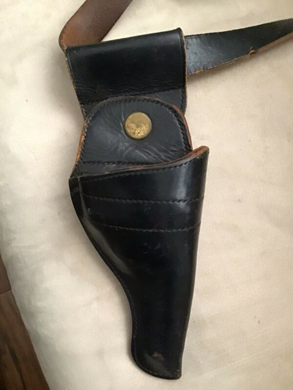 Vintage Nypd Duty Belt With Jay-pee Swivel Holster