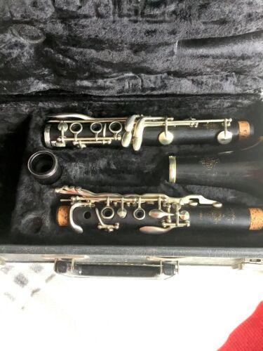 Leblanc Paris Symphonie 3 (III) Bb Clarinet circa 1974 Grenadilla Wood