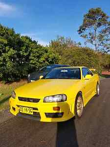 Rwd r34 turbo skyline low kms manual Charmhaven Wyong Area Preview
