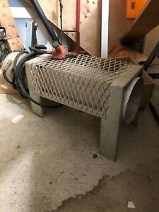 Salamander construction heater propane