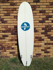 "Barefoot Radler Mini Mal Surfboard 7'6"" RRP $699 Eight Mile Plains Brisbane South West Preview"