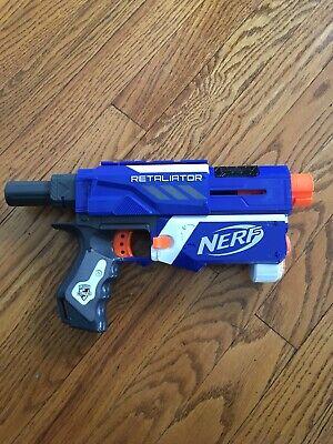 Nerf Guns Elite (Nerf N-STRIKE ELITE Retaliator Dart Gun Only FREE SHIP! Works)
