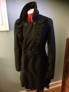 Classic Charcoal Coat for SALE