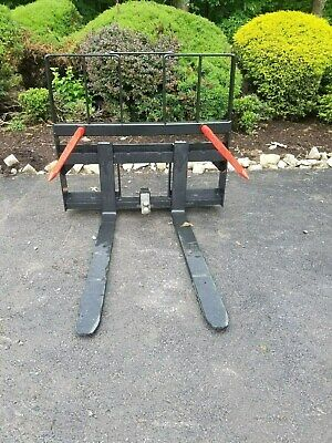 New 4200 Combination Pallet Forkstrailer Moverbale Spearfor Bobcat And More