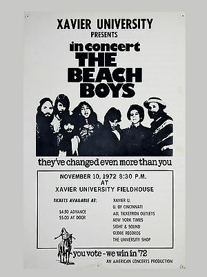 "The Beach Boys Xavier 16"" x 12"" Photo Repro Concert Poster"
