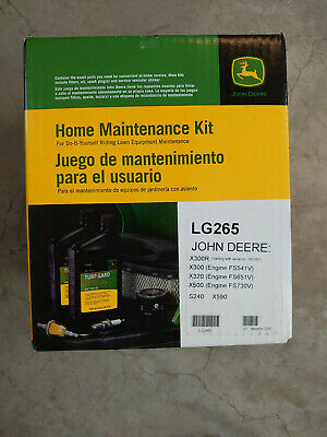 JOHN DEERE LG265 HOME MAINTENANCE KIT