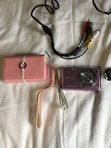 SONY CYBERSHOT 12.1 MEGAPIXEL CAMERA W CORD CASE BATTERY CHARGER