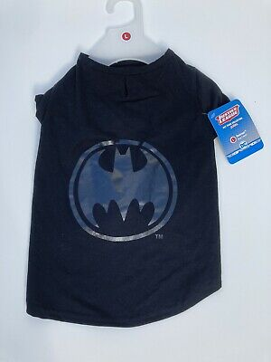 Justice League Batman Dog T-shirt COSTUME Large New With tags HALLOWEEN