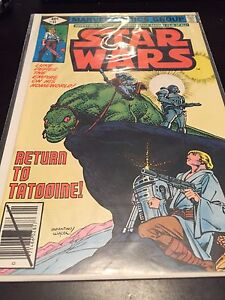Vintage Star Wars Comic - Return to Tatooine
