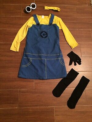 Rubies Female  MINION DESPICABLE ME CHILD GIRLS HALLOWEEN COSTUME Size Medium