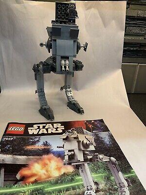 Lego Star Wars AT-ST Walker 7657  Instruction Manual Pilot Minifig