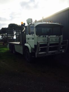 Volvo F7 Beavertail Truck Bobcat Excavator Tractor Mickleham Hume Area Preview