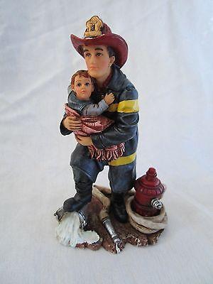 """VANMARK Red HATS Of Courage """"HERO"""" Miniature Figurine"""
