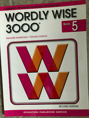 Wordly Wise 3000 2nd Edition: Wordly Wise 3000 Book 5 by Kenneth Hodkinson...