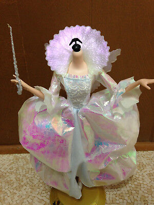 Barbie Doll Cinderella Fairy Godmother Body Dress Wings Shoes Wand](Cinderella Fairy Godmother Wand)