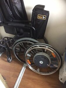 Hi tech wheelchair touch system