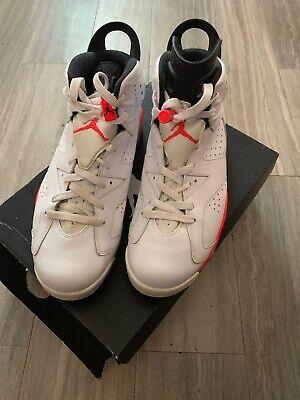 "Nike Air Jordan 6 Retro ""White Infrared"" Men's Size 11"