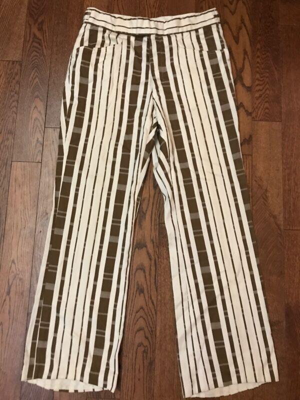 Vintage 60's 70's Striped Pants By Damon - 31 x 29