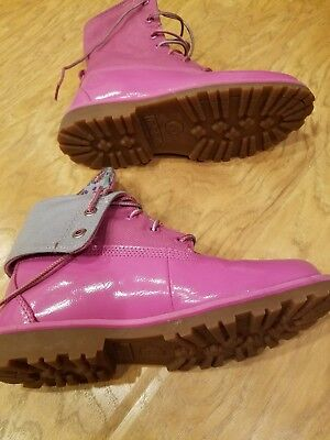 pink patent leather pink size 2 kids boots - Childrens Pink Patent Boots