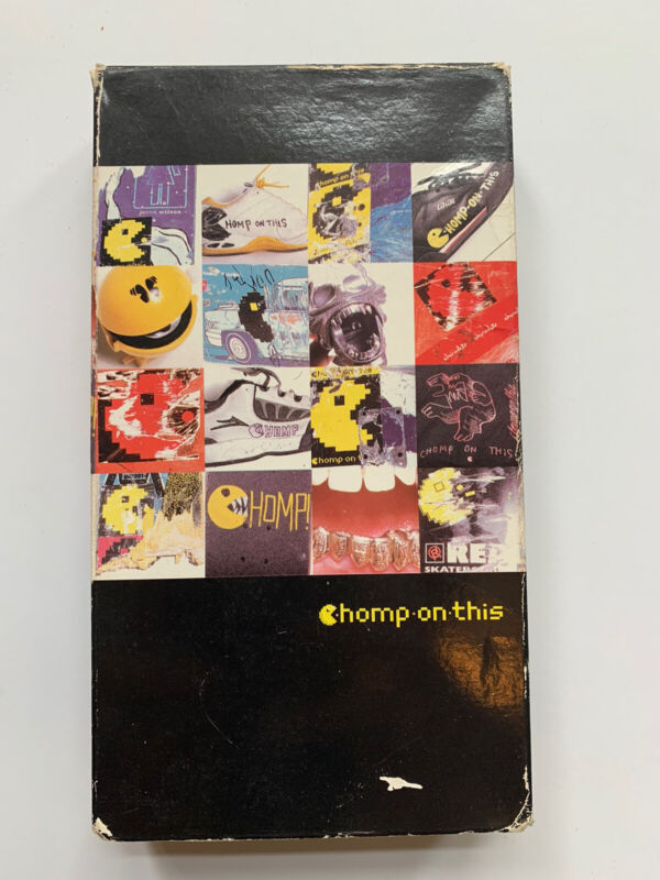 2002 Chomp On This VHS Skate Video Skateboard Girl Zero Skateboards Koston