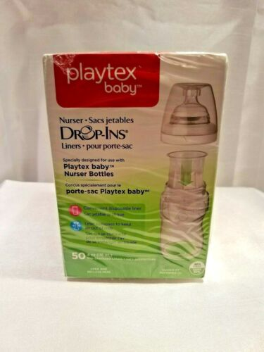 Lot of 2 Boxes Playtex Baby Nurser Drop-Ins Liners NEW