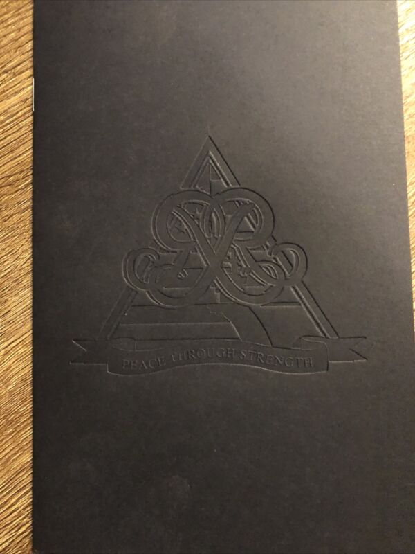 USS Ronald Reagan CVN 76 Homeporting Ceremony Order Of Events Booklet Schedule