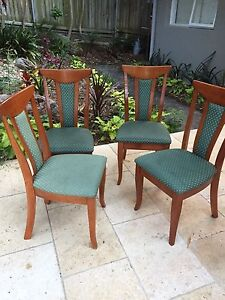 Free dining chairs x4 Elanora Heights Pittwater Area Preview