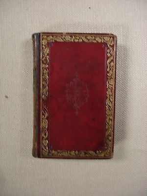 Night Thoughts by Edward Young - 1831 - Bible - FBHP-3- Red Leather Binding