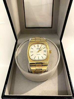 OMEGA Geneve Automatic GOLD VINTAGE + Watch Winder
