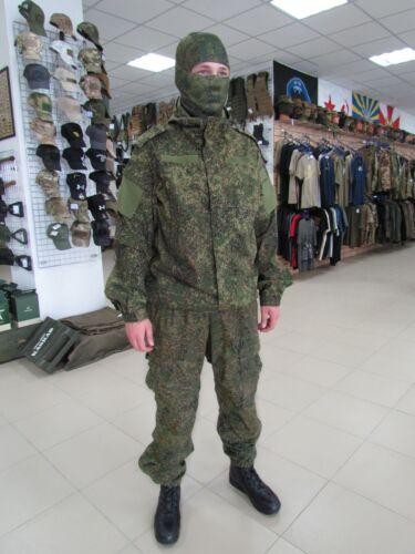 Russian Army Ratnik VKBO Demi-season suit (layer 5) in Digital Flora camo.