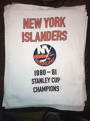 New York Islanders 1980-1981 Stanley Cup Champion Banner Rally Towel