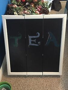 Homemade Tea Cabinet (Customizable Chalk Front)