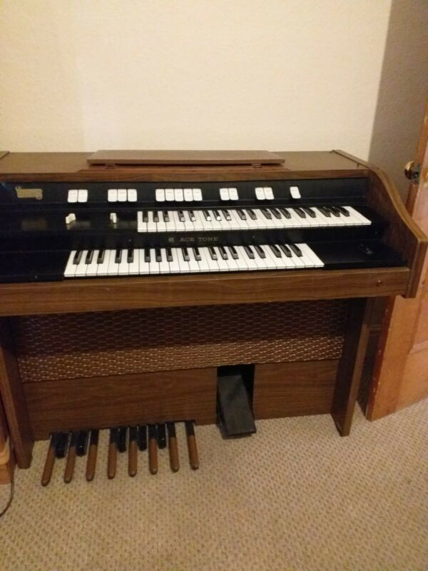 Rare Vintage Ace Tone A-112 electric organ with paperwork COLLECTION ONLY SY5