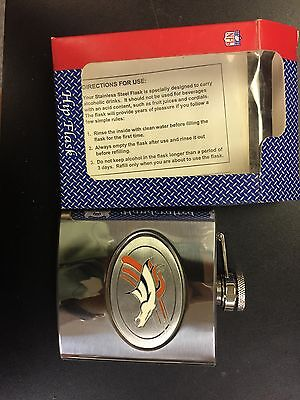 Denver Broncos Handmade Hip Flask Broncos Hip Flask
