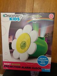 Discovery Kids Daisy Bloom Projection Alarm Clock With Projection Ages 3+
