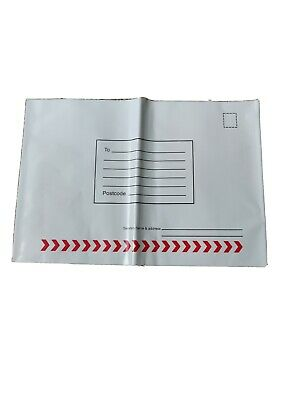 White VERY Strong Postal Mailing bags1x8  Medium/ Polythene Self Seal Envelopes