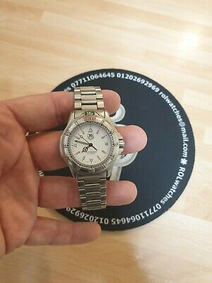 Tag Heuer 4000 Series, Mens 38mm. Just serviced.