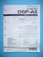 Servicio Manual De Instrucciones Para Yamaha Dsp-a5, Original - yamaha - ebay.es
