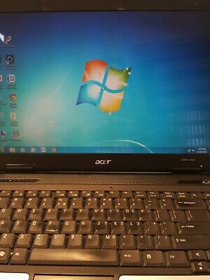 Acer Aspire 5050 Windows 7 Laptop Working 14 Inch Screen 80 GB HD