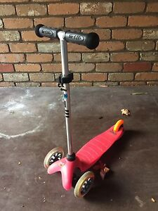 MICRO MINI SCOOTER - in cute girly PINK : RRP $129 Sandringham Bayside Area Preview