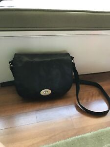 Real leather cross body purse, brand new