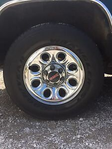 6 bolt chevy/gmc rims & tires