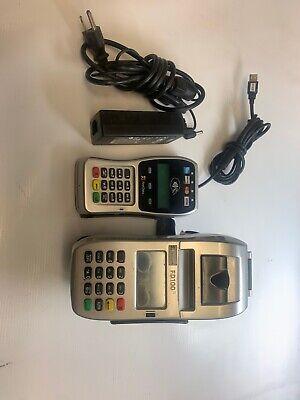 First Data Fd100 Ti And Fd-35 Pin Pad Credit Card Terminals