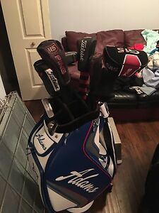 Golf bag and clubs for sale Cambridge Kitchener Area image 1