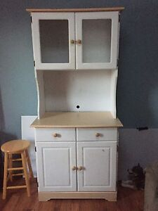 Kitchen cabinet/microwave stand (SOLD)