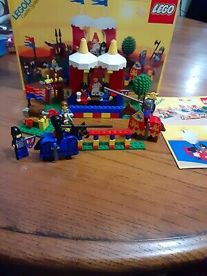 Lego 6060 Knight's Challenge Vintage 1989 complete w/ Instructions and Box
