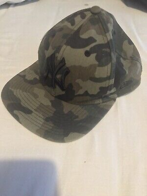 New York New Era Camouflage Snapback Cap
