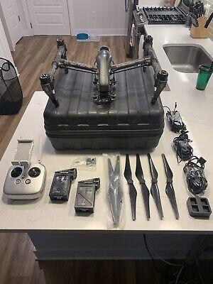 DJI Inspire 1 Drone + Osmo X5R + Osmo X3 Kit + Accessories
