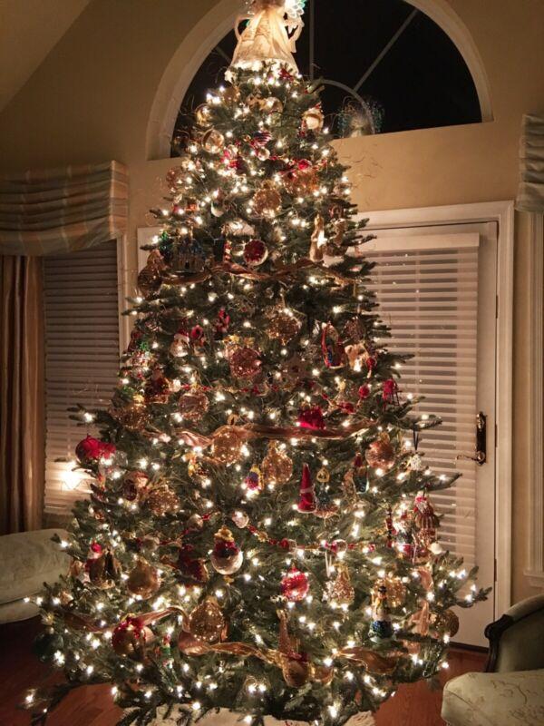 Frontgate Noble Fir Full Profile Beautiful Designer Christmas Tree 9 Feet
